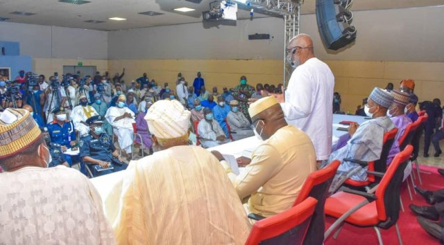 Image result for sout west governors meet miyetti allah