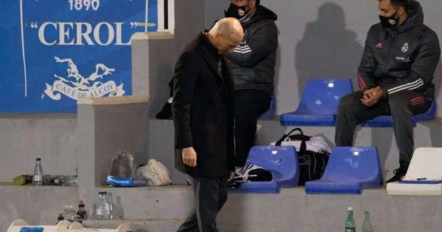 Pressure mounts on Zidane as Madrid lose to third-tier Alcoyano