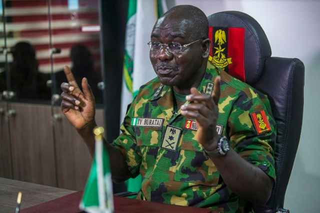 I survived three assassination attempt as CAS ― Buratai