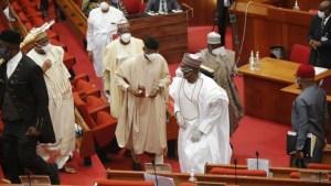Akwa-Ibom Senators withdraw petition challenging Buhari's nomination of Yuguda as SEC DG
