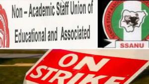 SSANU, NASU begin nationwide strike Feb 5 – Officials