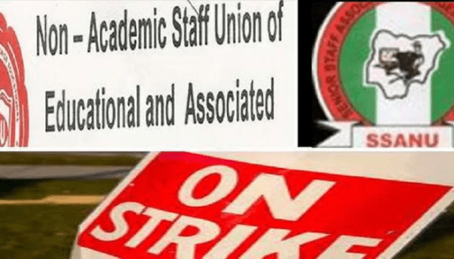 SSANU, NASU begin nationwide strike Feb 5 – Officials
