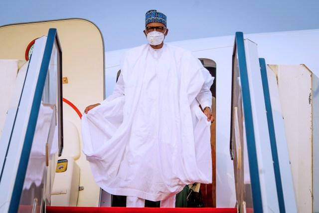Daura official visit: Buhari returns to Aso Rock