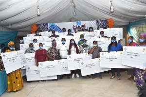RevolutionPlus group empowers over 150 widows to mark Dir's birthday