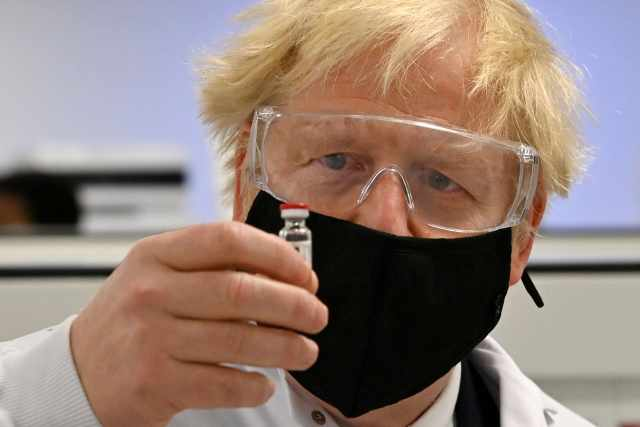 Britain's Johnson wants to cut vaccine development time by two-thirds