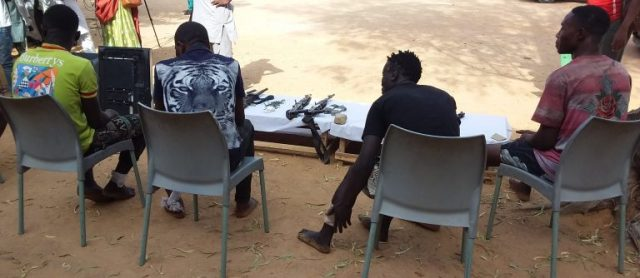 Police parade 101 armed robbery suspects, others in Kano