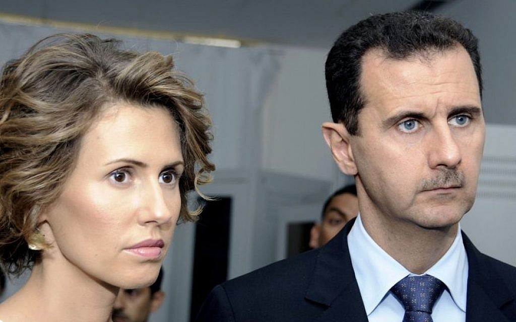 Syria president, first lady test positive for Covid-19