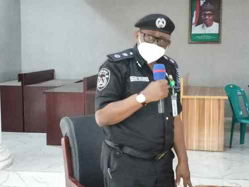 Those behind burnt police station in Imo won't go unpunished, CP vows