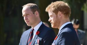 Princes William and Harry pay tribute to grandfather Prince Philip