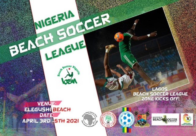 Lagos agog as Pinnick kicks off new Nigeria Beach Soccer League