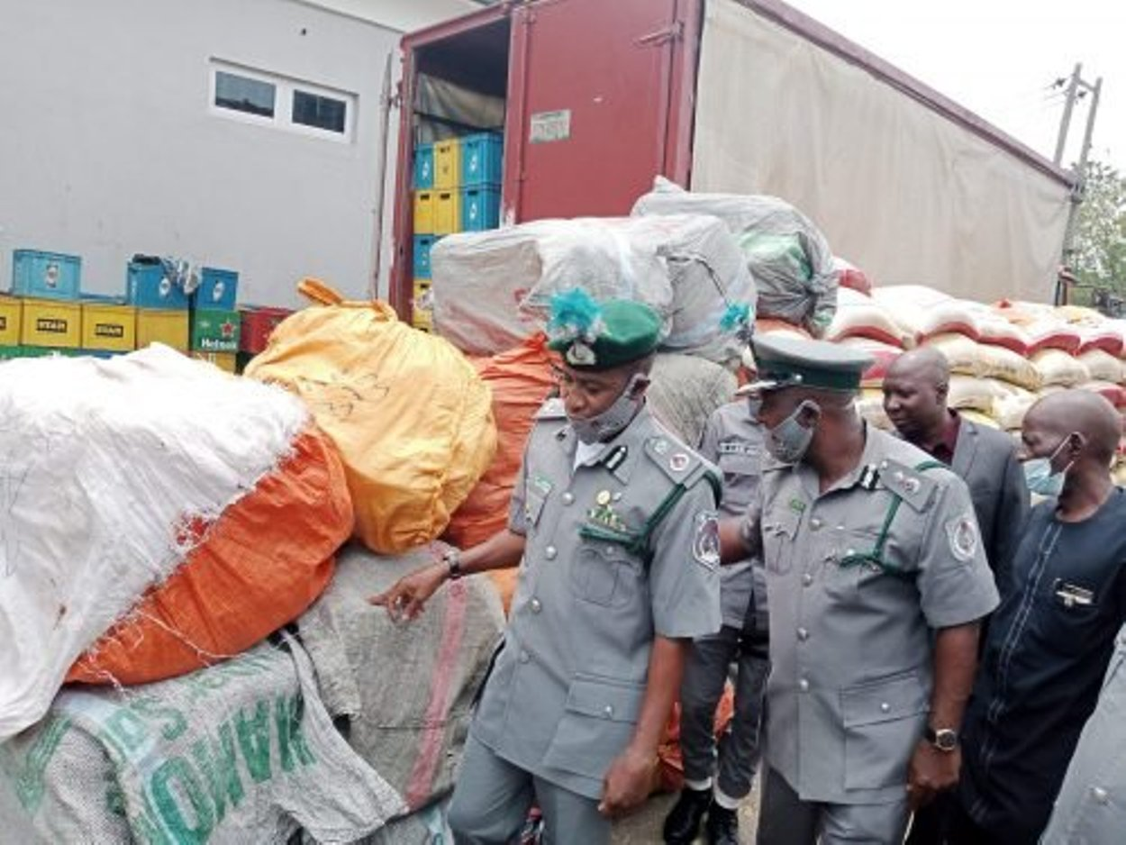 Customs seizes contraband worth N1.2bn in Q1 - Vanguard News