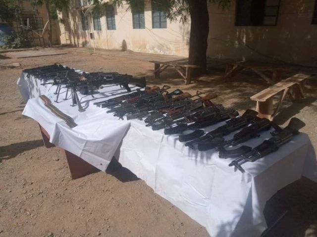 Bandits surrender 26 rifles to police in Katsina