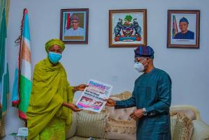 Oyetola is Blueprint Newspaper Governor of the Year
