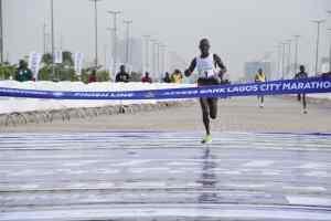 Kenya's Emmanuel Naibei wins 2021 Access Bank Lagos City Marathon