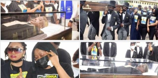PHOTOS: Funeral service for late Yinka Odumakin