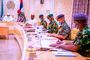 Buhari, security heads to reconvene meeting on Tuesday