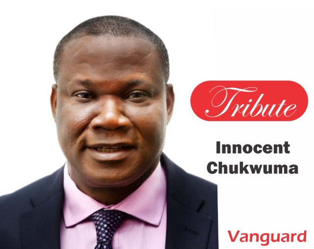 A tribute to our Founder, Innocent Chukwuma