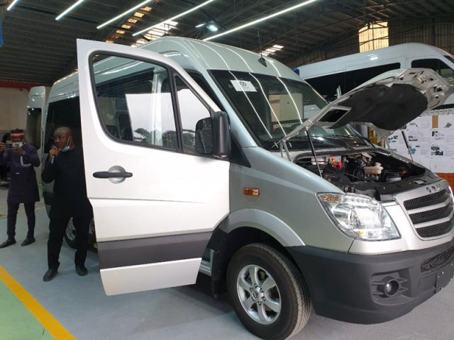 OMAA unveils locally assembled gas-powered buses