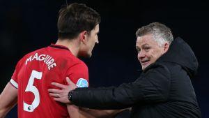 Solskjaer hopeful injured Maguire makes Europa League final