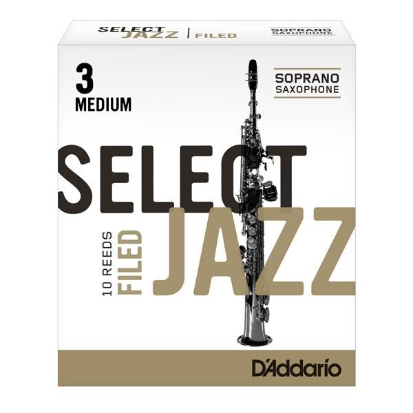 Filed Select Jazz Soprano Reeds
