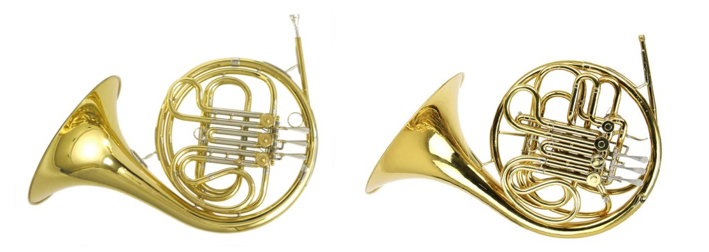 french horn single versus double vanguard orchestral