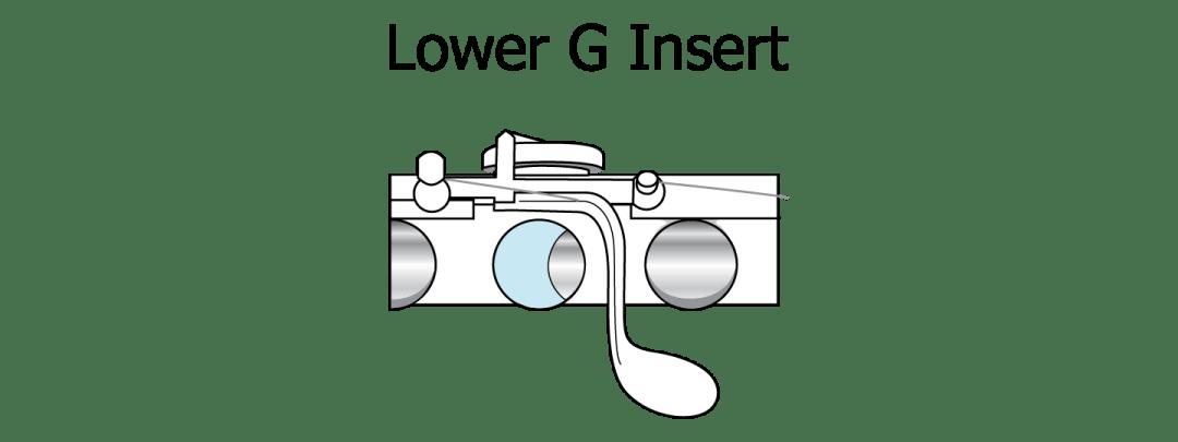 lower G insert flute vanguard orchestral