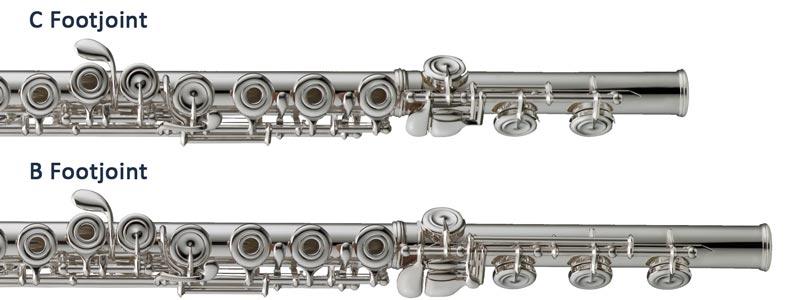 c foot b foot flute vanguard orchestral