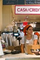 CAFE CLEMENTINE – NEW YORK CITY, NY – USA - Friendly and cute waitress