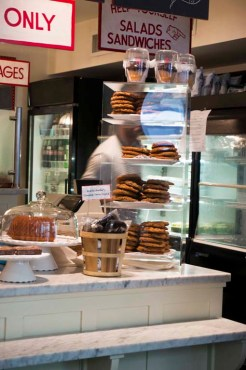 CAFE CLEMENTINE – NEW YORK CITY, NY – USA - Lots of cookies
