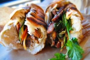Little Green Cyclo - San Francisco - Banh mi sandwich
