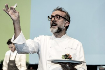 Massimo Bottura at the Chef Days
