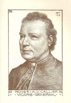 In 'Om te delen': Augustinus J. Callier
