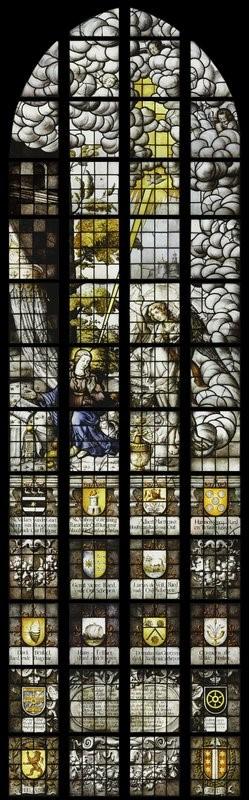 Een van de Goudse glazen, inspiratiebron Joep Nicolas.