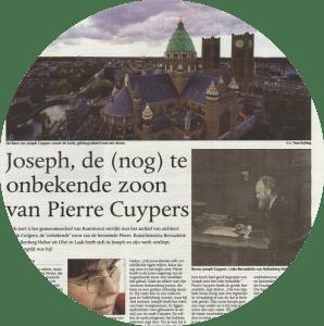 Joseph Cuypers in De Limburger van 11 februari 2016.