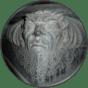 Een van de ondeugden in de nieuwe Bavo van beeldhouwer Johannes Maas (1914) (Foto BvHH 2016).