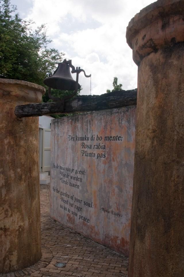 Museum Kura Hulanda vertelt over de positie van Curaçao in de internationale slavenhandel. Foto Anja Disselhof 2011 (onder Creative Commons Licentie op Flickr).