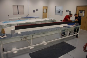 Layup of first VHA composite 206B main rotor blade