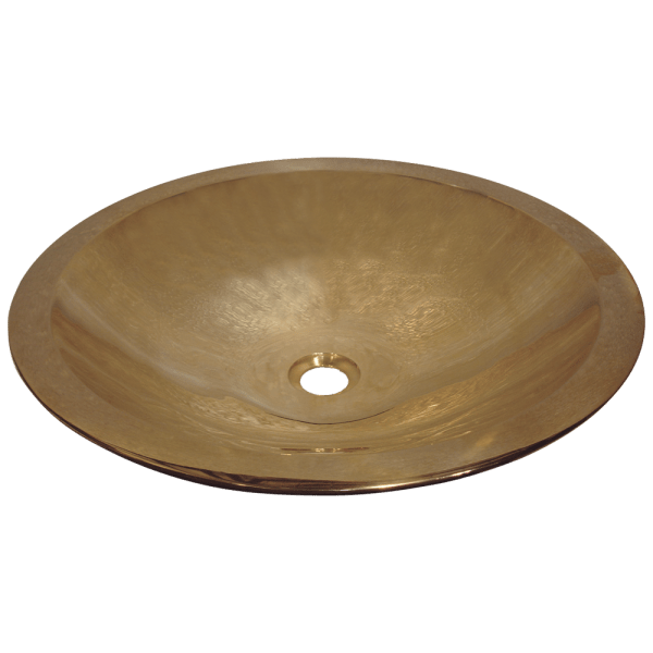 Cast Bronze Sink Oval Double Walled