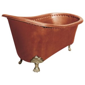 Copper Bathtub Clawfoot Design
