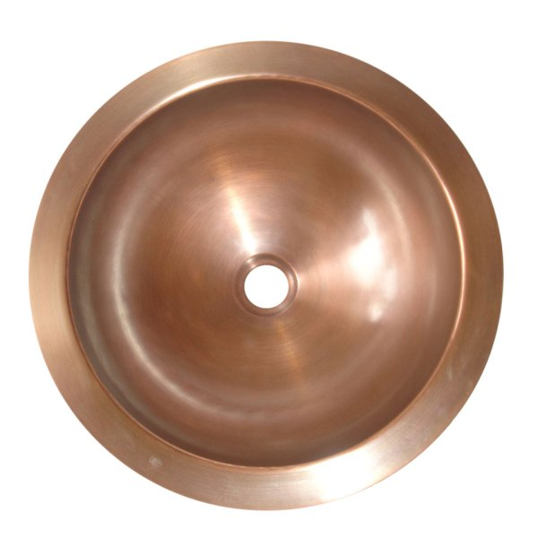 Round Antique Copper Sink