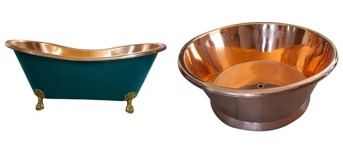 Copper Bathtubs Suppliers in India