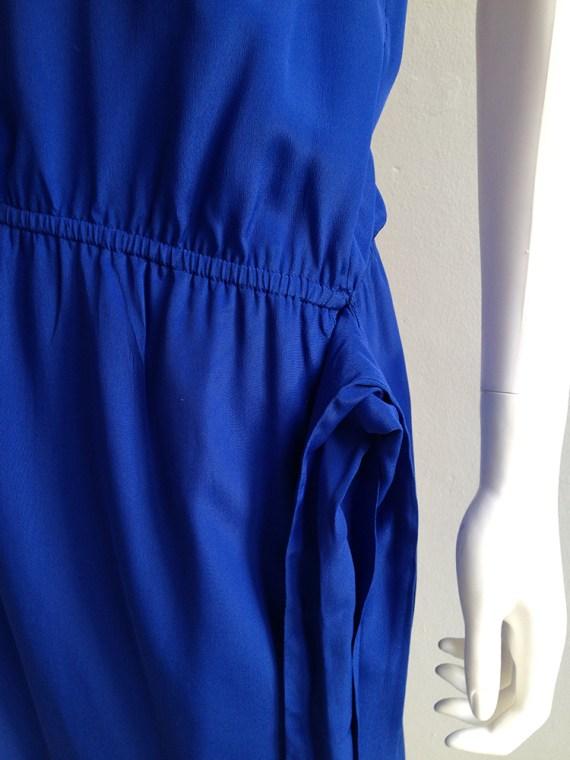 vintage Maison Martin Margiela replica blue 1978 summer cocktail dress
