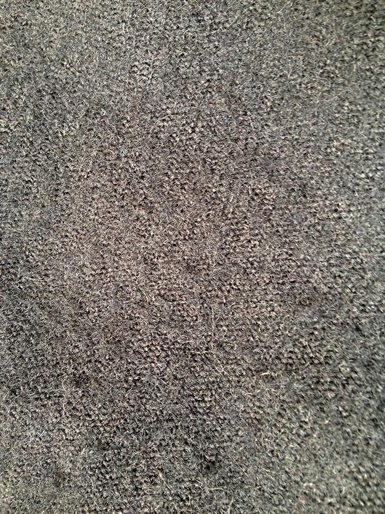 mens Comme des Garçons Shirt dark blue patchwork blazer