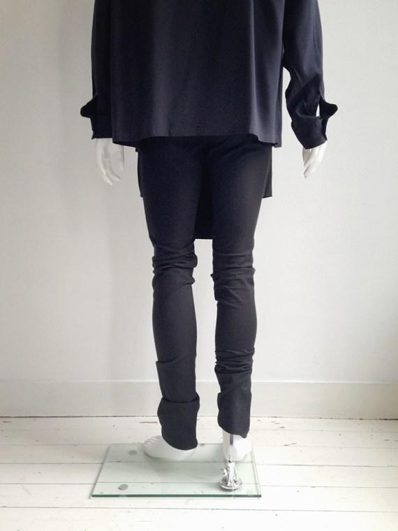 Rad by Rad Hourani black panelled leggings