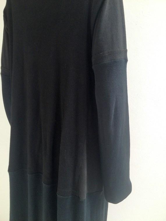 Maison Martin Margiela artisanal black t-shirt cardigan couture archive 0769