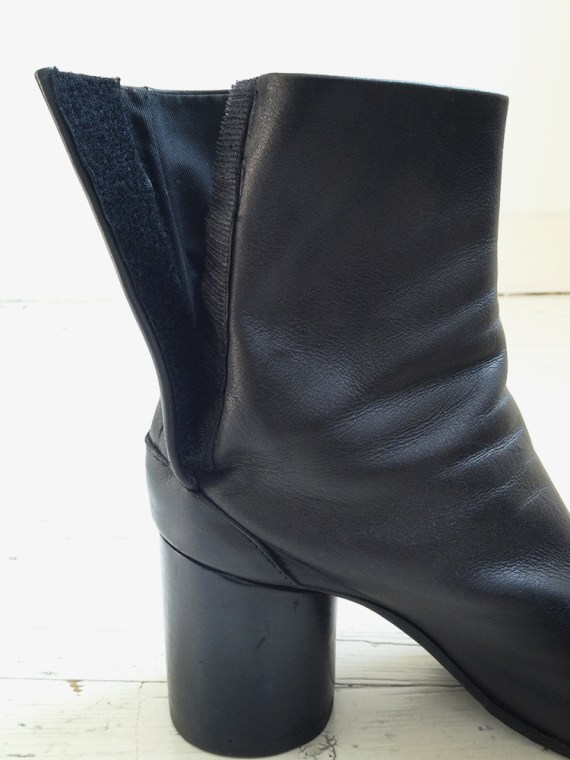 Maison Martin Margiela black tabi boots 40 – early 90s 6293