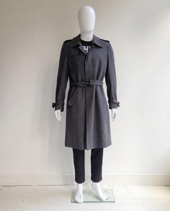 vintage Maison Martin Margiela grey trenchcoat