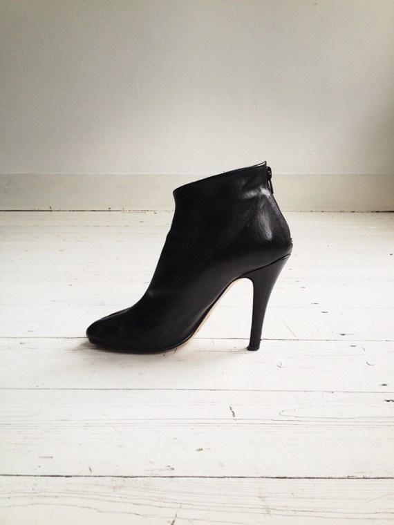 Maison Martin Margiela black tabi boots with stiletto heel 38 6618 copy