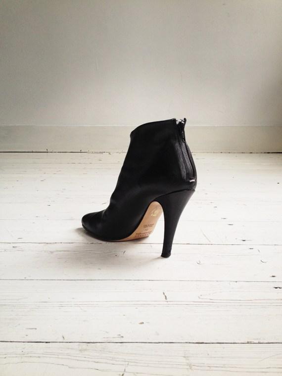 Maison Martin Margiela black tabi boots with stiletto heel 38 6623 copy