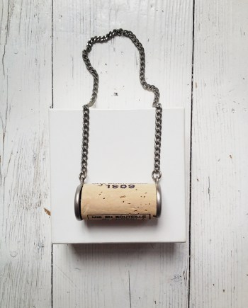 Maison Martin Margiela cork necklace — fall 1999